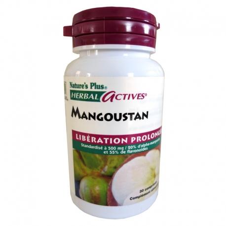 Mangoustan libération prolongée Nature's Plus 30 comprimés v1