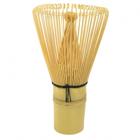 Chasen fouet à matcha bambou 80 pistils Jardins de Gaïa v1