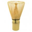 Chasen fouet à matcha bambou 80 pistils Jardins de Gaïa