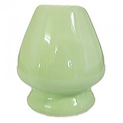 Repose fouet chasen vert en porcelaine Jardins de Gaïa v1