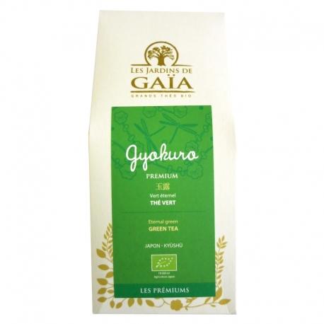 Thé vert bio Gyokuro Premium Jardins de Gaïa 100 g v1