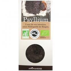 Psyllium brun bio Sainte Hildegarde Aromandise 100 g v1