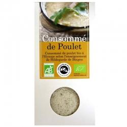 Consommé de poulet bio à l'hysope Aromandise 170 g
