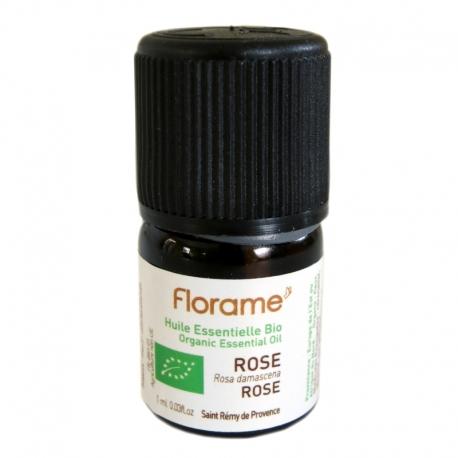 Huile Essentielle de Rose de Damas bio Florame 1 ml v1
