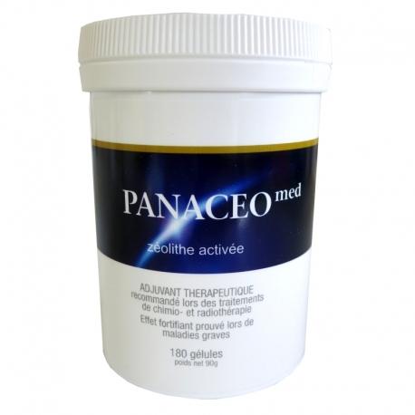 Panaceo med Zéolithe activée 180 gélules v1