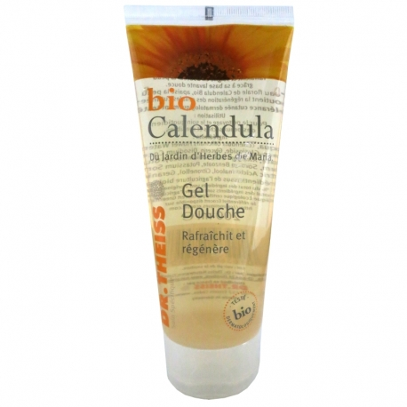 Gel douche au Calendula bio Dr Theiss 200 ml v1