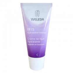 Crème de nuit hydratante Iris Weleda 30 ml