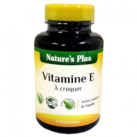 Vitamine E à croquer Nature's Plus 60 comprimés v1