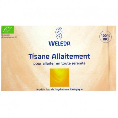 Tisane d'allaitement bio Weleda 20 sachets v1