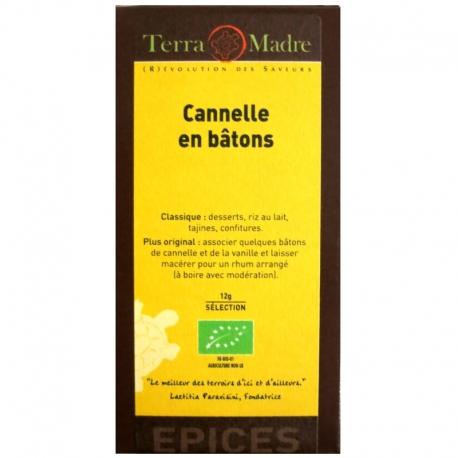 Cannelle en bâtons bio Terra Madre v1