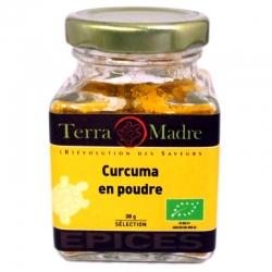 Curcuma bio poudre 30 g Terra Madre