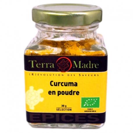 Curcuma bio poudre 30 g Terra Madre v1