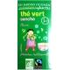 Infusettes de thé vert Sencha Chine Jardins de Gaïa v2