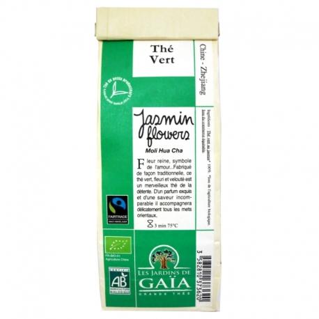 Thé vert Chine Fleurs de Jasmin Moli Hua Cha 100 g v1