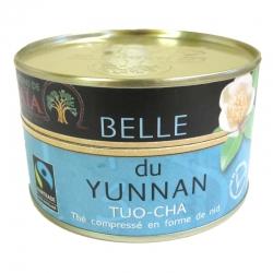 Thé noir bio Pu Erh Tuo-Cha Belle du Yunnan