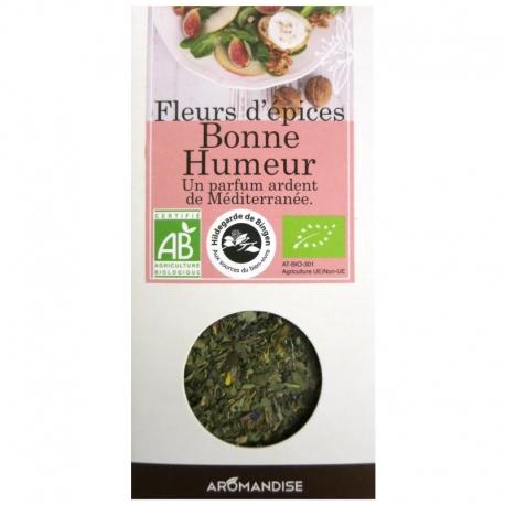 Fleurs d'épices Bonne Humeur Aromandise 25 g v1