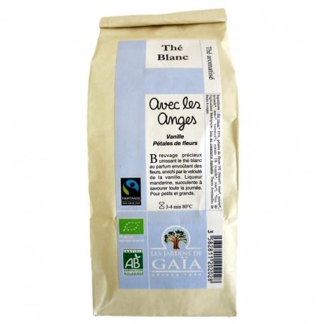 Thé blanc bio aromatisé Avec les Anges Jardins de Gaïa 100 g v1