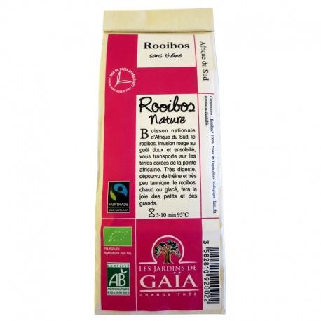 Thé rouge bio Rooibos Nature Jardins de Gaïa 100 g v1