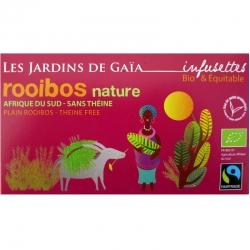 Thé rouge bio Rooibos Nature Jardins de Gaïa 20 infusettes v1