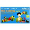 Thé oolong ou wu long bio Fruité Litchi Jardins de Gaïa 20 infusettes