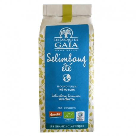 Thé oolong ou wu long bio Selimbong été Jardins de Gaïa 100 g v1