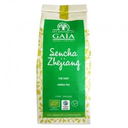Thé vert bio Sencha Zhejiang Jardins de Gaïa 100 g v1