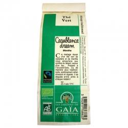 Thé vert bio Casablanca dream Menthe Jardins de Gaïa 100 g