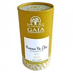 Thé jaune bio Huang Ya Cha Jardins de Gaïa 40 g