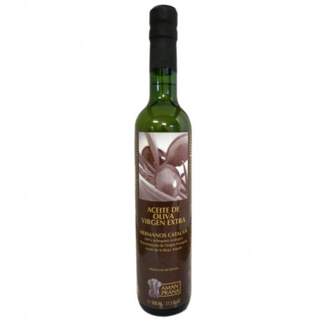 Huile d'olive bio extra vierge Hermanos Catalan 500 ml v1