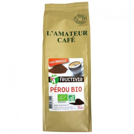 Café bio du Pérou Fructivia L'Amateur Café 250 g v1