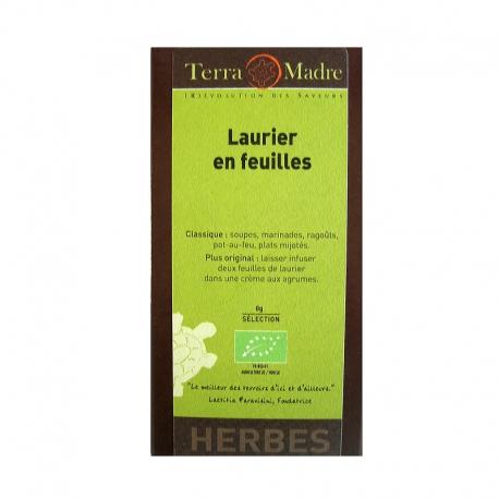 Laurier en feuilles bio Terra Madre v1