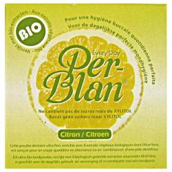 Poudre dentaire Per-Blan citron