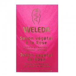 Savon bio à la Rose Weleda 100 g