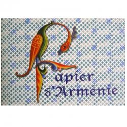 Papier d'Arménie triple Edition Année de l'Arménie