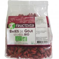 Baies de Goji séchées bio Fructivia 200g