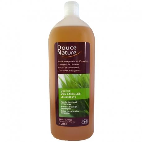 Gel douche des familles Lemongrass Douce Nature 1 litre