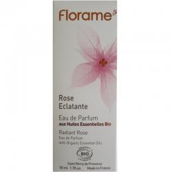 Eau de Parfum Rose Eclatante Florame 50ml