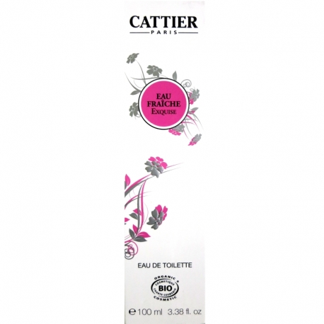 Eau de toilette Eau Fraîche Exquise Cattier 100ml
