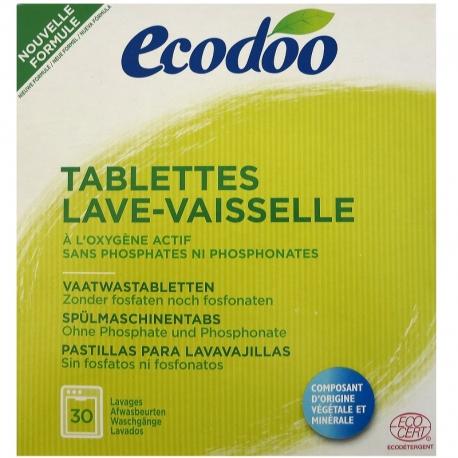 Tablettes pour Lave-vaisselle Ecodoo
