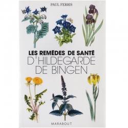 Livre Les Remèdes de Santé d'Hildegarde de Bingen Marabout