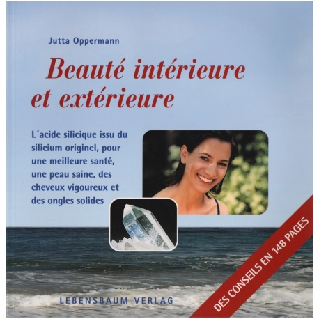 Livre 'Beauté intérieure et extérieure' Jutta Oppermann Lebensbaum Verlag
