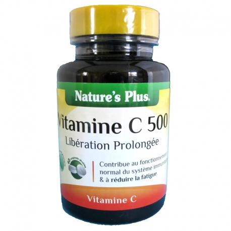 Vitamine C 500 Nature's Plus 60 comprimés v1
