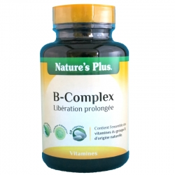 Vitamine B-Complex Nature's Plus 60 comprimés v1