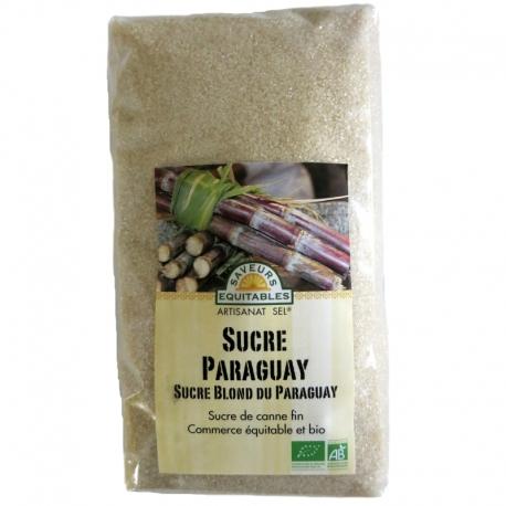 Sucre de Canne blond bio du Paraguay Artisanat Sel