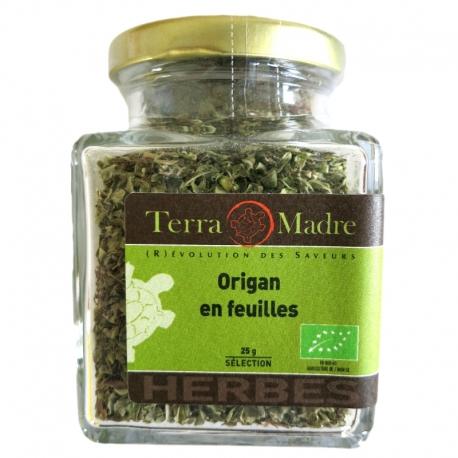 Origan bio en feuilles 25 g Terra Madre