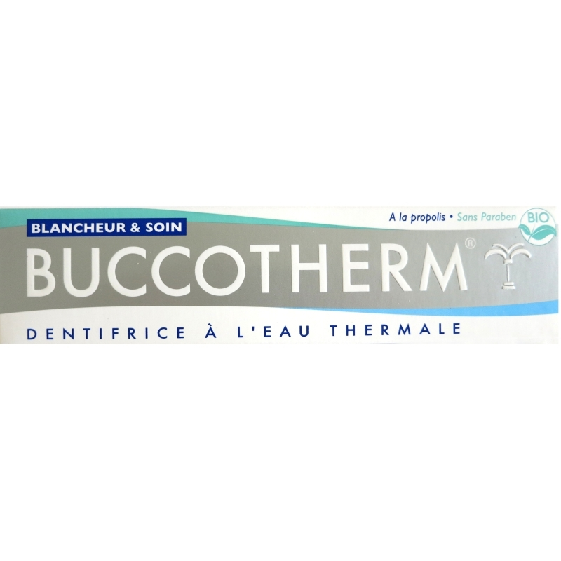 dentifrice buccotherm blancheur et soin 75 ml. Black Bedroom Furniture Sets. Home Design Ideas