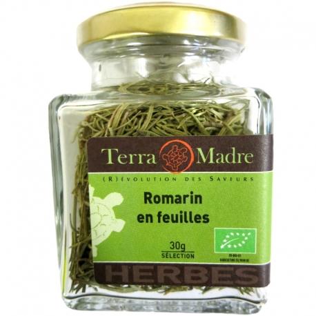 Romarin bio en feuilles 30 g Terra Madre v1