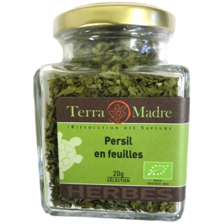 Persil bio en feuilles 20 g Terra Madre v1