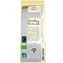Thé blanc bio Selimbong Bai Mu Dan Jardins de Gaïa 50 g