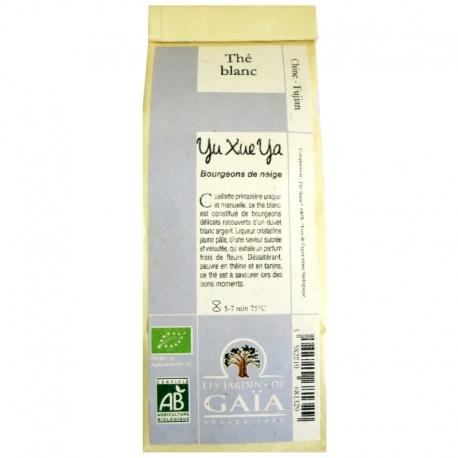 Thé blanc bio Yu Xue Ya Jardins de Gaïa 50 g v1